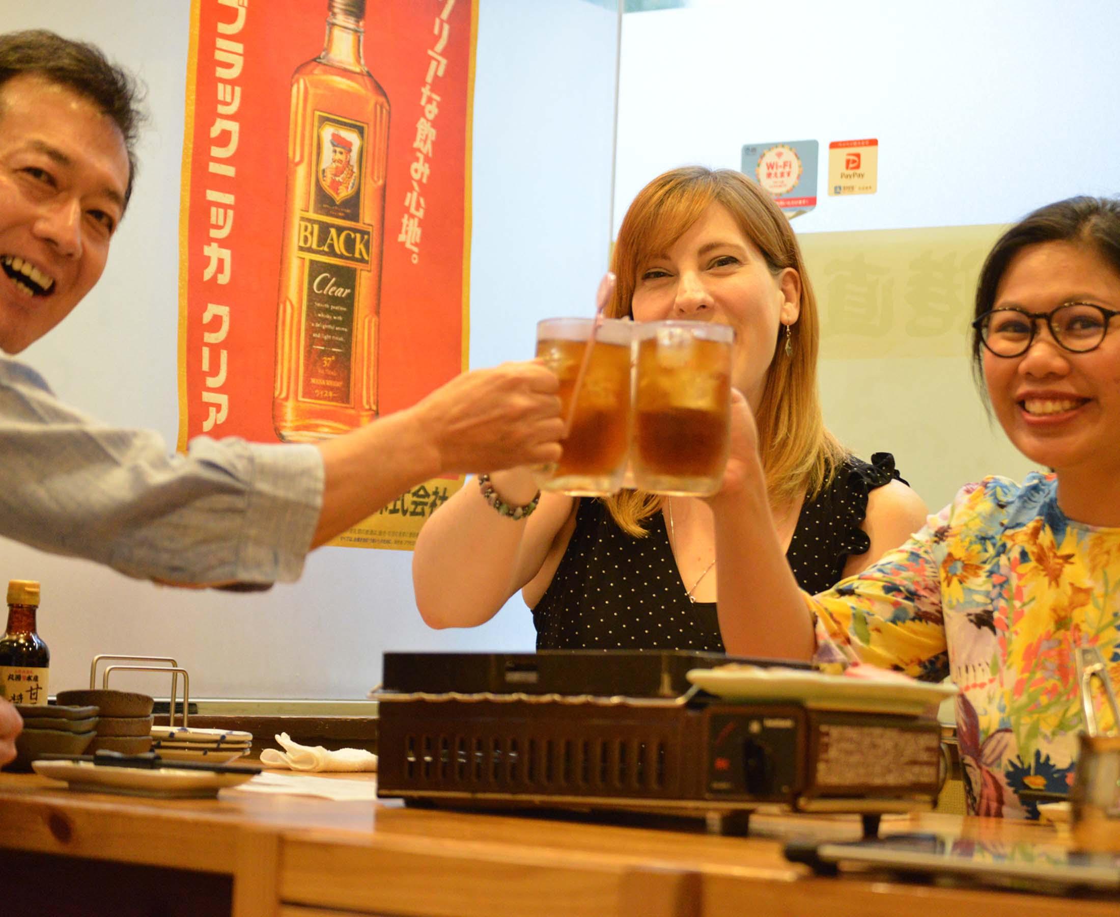 夜の松江を楽しむツアー Food&Drink(プランA:串カツ居酒屋&カラオケ)