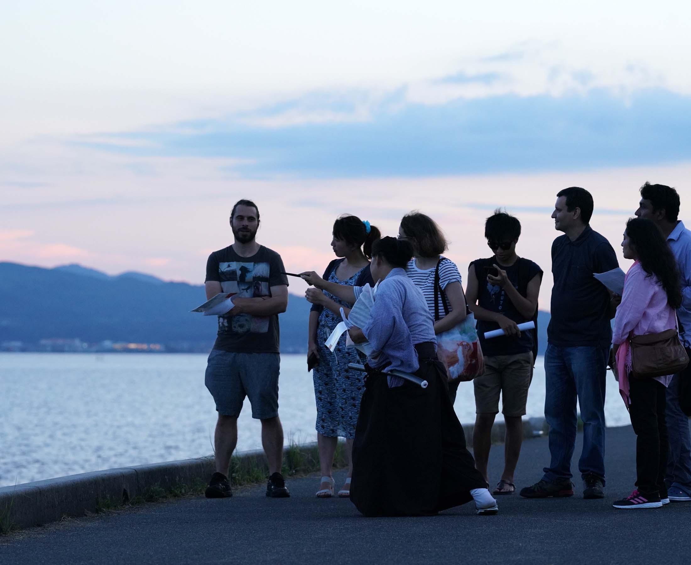 サムライそうえもんと巡る城下町松江ガイドツアー