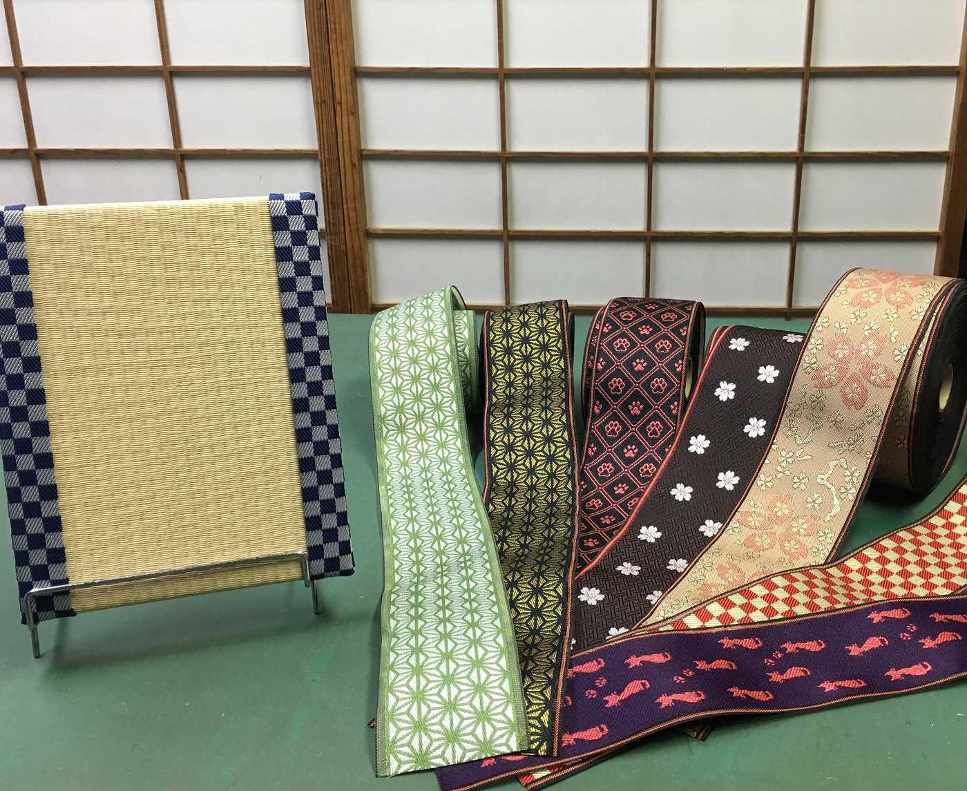 日本の伝統「畳」を使った小物づくり